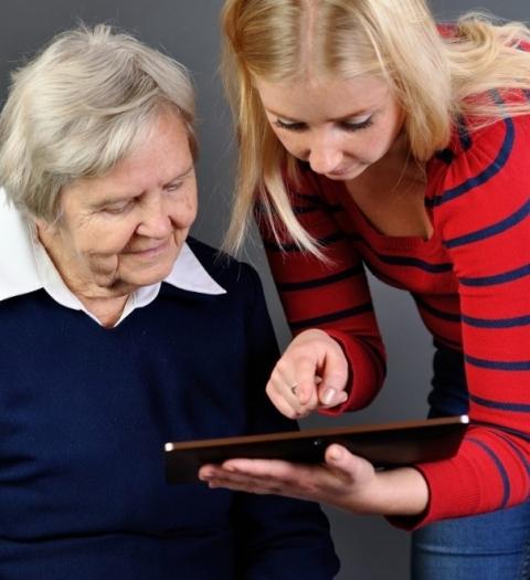 Помощь студентов МГППУ в социальной адаптации пожилых людей